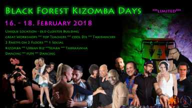 Black Forest Kizomba Days 2018